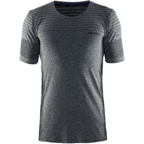 Craft Cool Comfort RN SS Shirt Men black melange